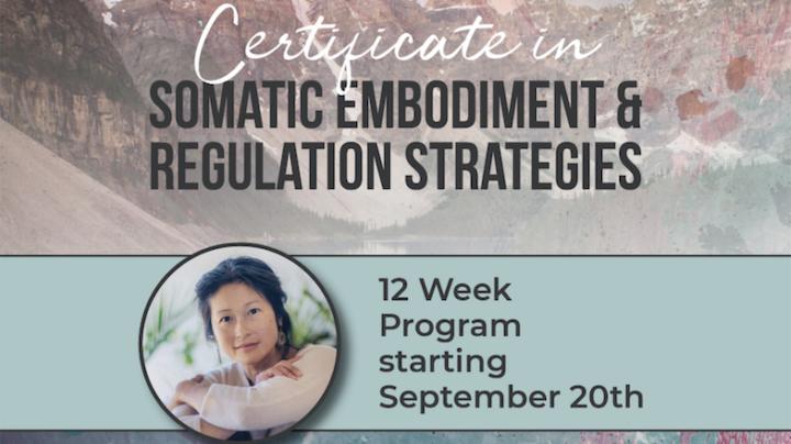 12 Week - Certificate in Somatic Strategies - All Levels